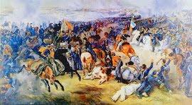 BATALLA DE CANCHA RAYADA (19/03/1818) General SAN MARTÍN Vs REALISTAS (Españoles).