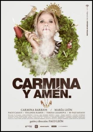 Póster de Carmina y amén. (Paco León, 2014) - modelo de Carmina