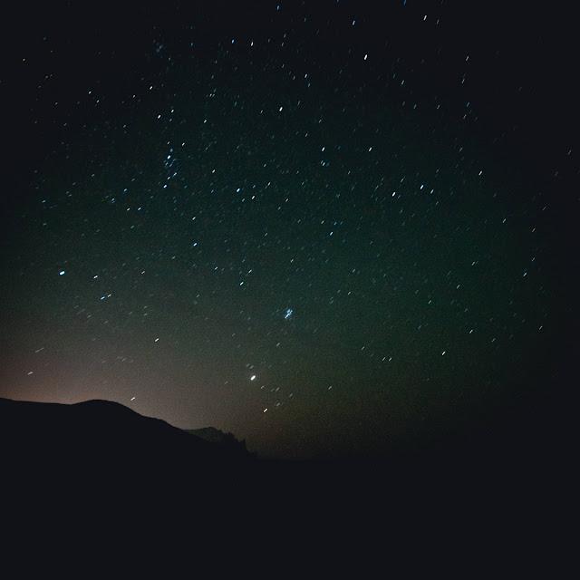Звездное небо над Кара-Дагом