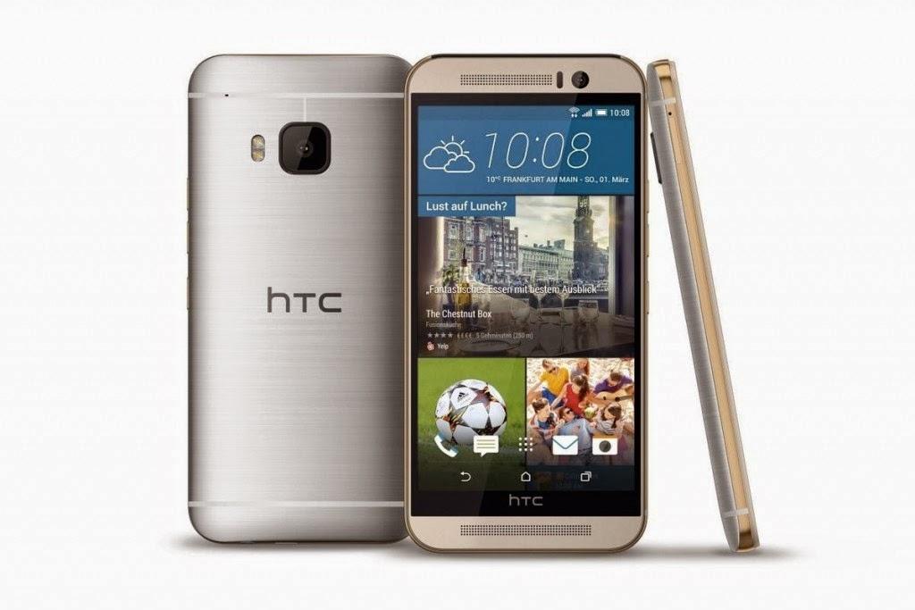 الخبير   طريقك إلى عالم التقنية ، هاتف HTC One M9 باللون الفضي والذهبي 1