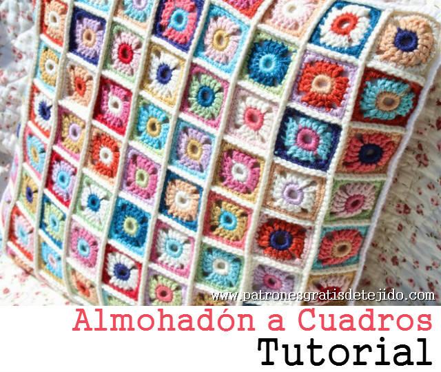 Aprende A Tejer Mini Cuadros Crochet Paso A Paso Crochet Y Dos - Cuadros-pequeos