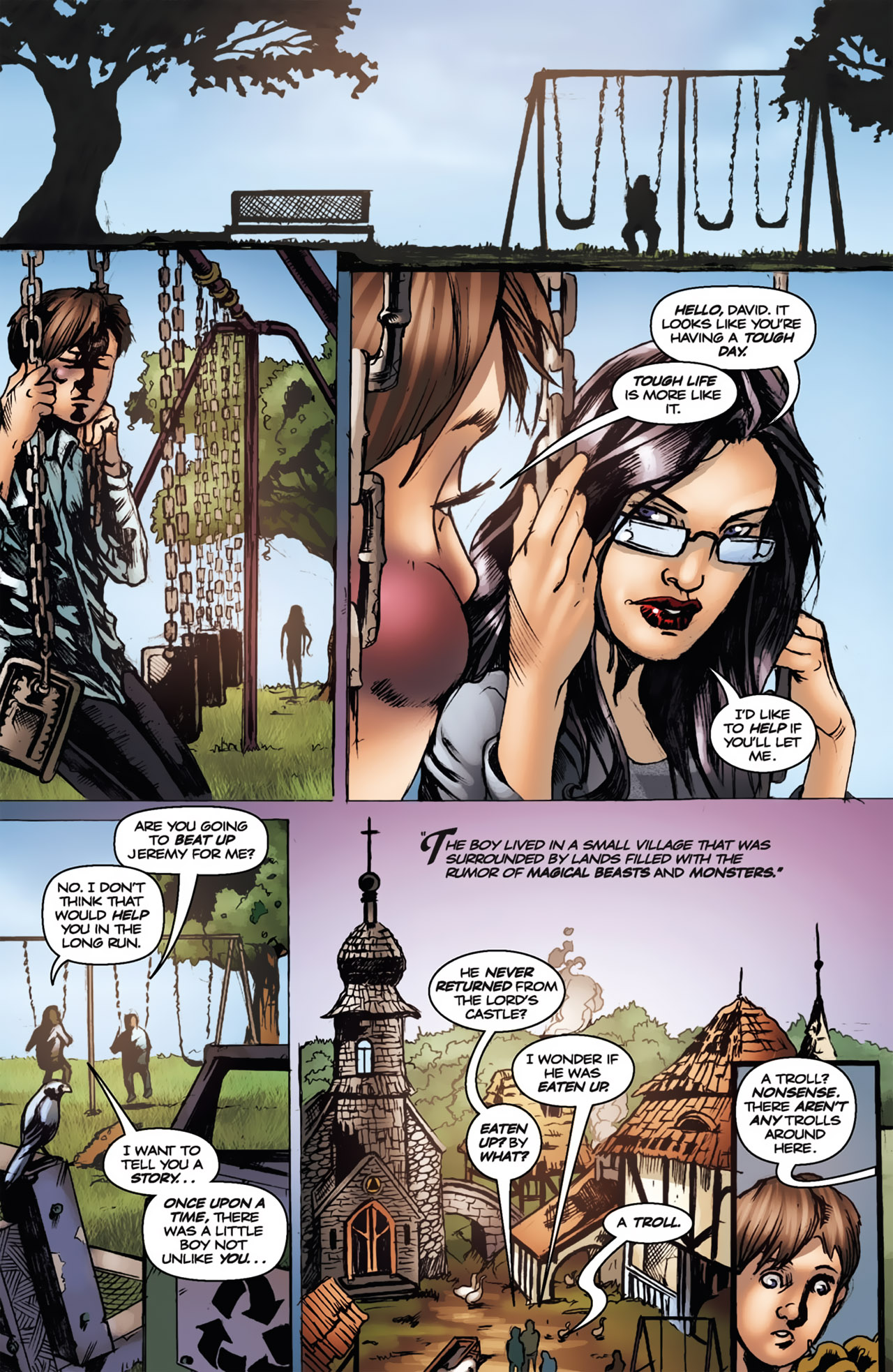 Grimm Fairy Tales (2005) Issue #18 #21 - English 6