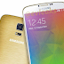Samsung Galaxy F pictured next to the Galaxy S5, shows off ultra-slim bezels (press image leaked)
