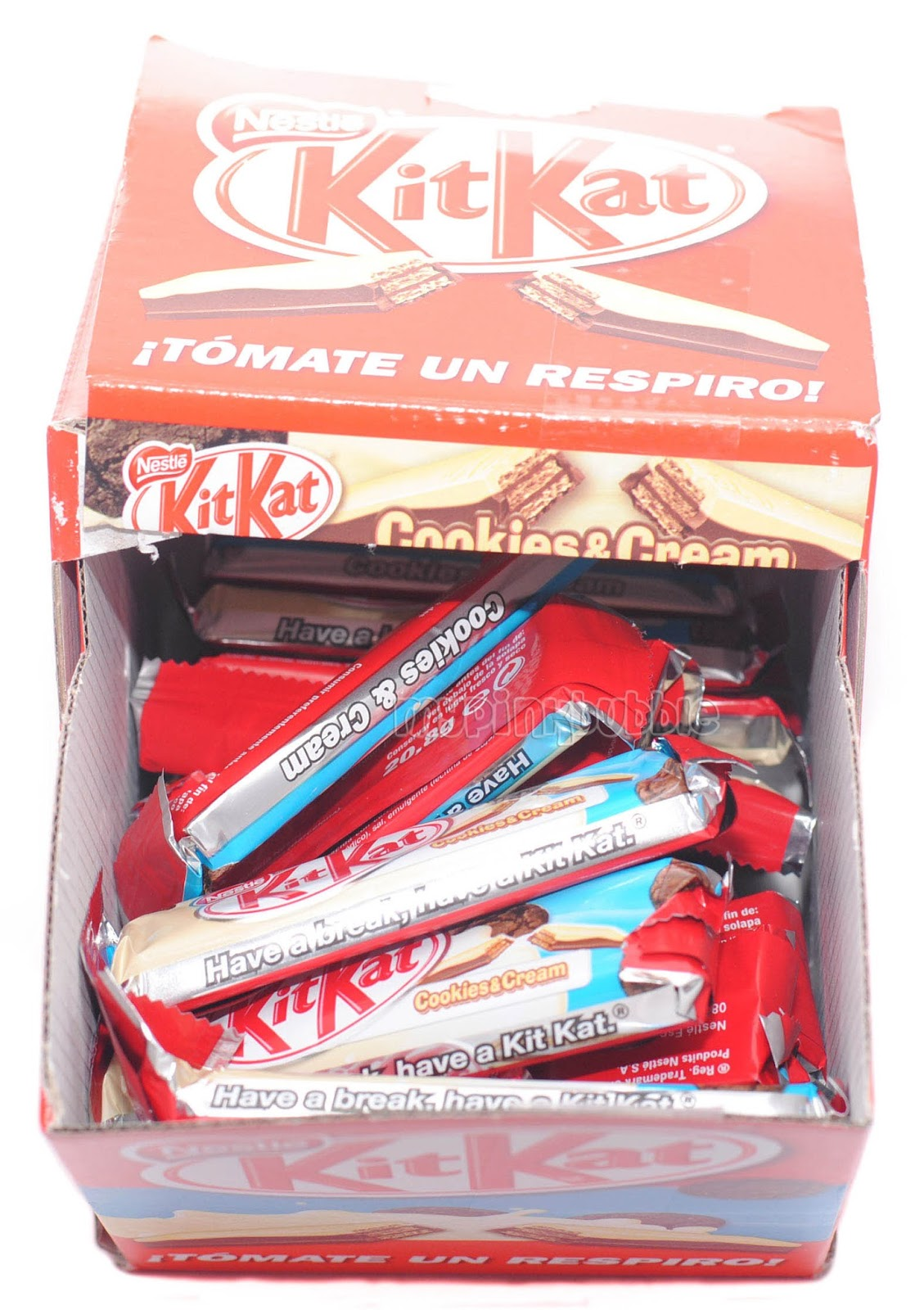 Kit kat cookies cream caja