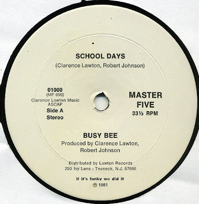 Busy Bee ‎– School Days (VLS) (1981) (320 kbps)