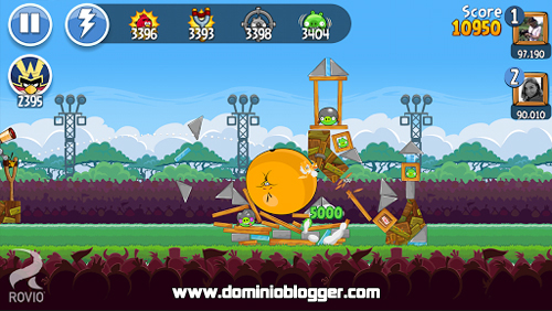 juega Angry Birds Friends gratis