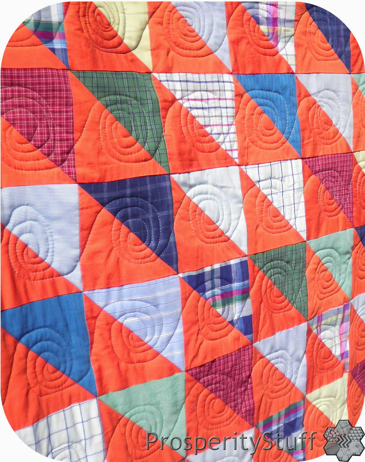 ProsperityStuff Free-Motion Spiral Quilting