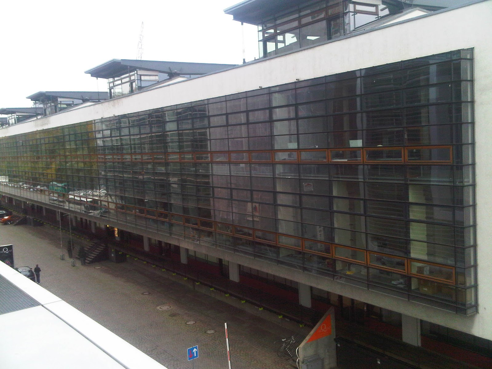 Blick rückwärts in die Große Elbstraße