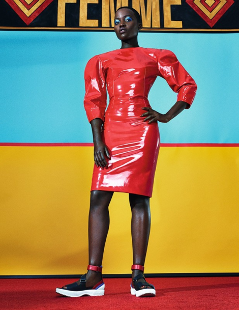 Lupita Nyong'o by Sharif Hamza for Dazed & Confused