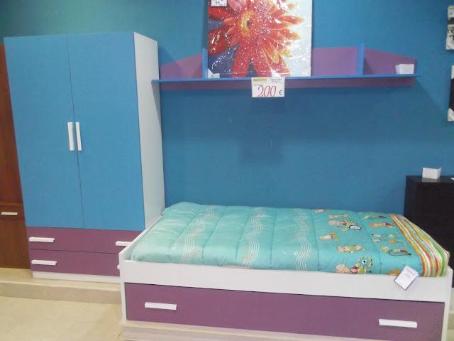 Rapimueble la carolina dormitorio juvenil de liquidacion - Rapimueble dormitorios ...