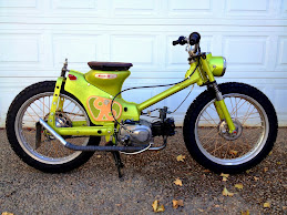 1963 Honda C100 Chopper