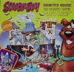 Scooby-Doo Haunted House 3D board game box.