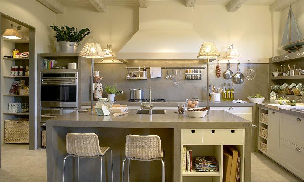 Querido Refúgio  Blog de decoração Uma cozinha organizada toda cinza, em ci # Ilha Cozinha Em Alvenaria