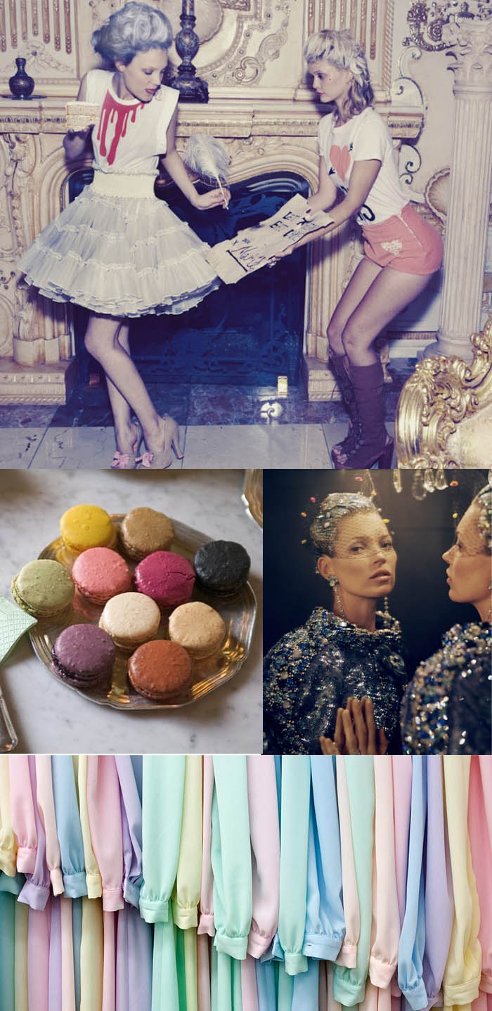A RAINHA DA MODA_influencias de Maria Antonieta_Moda maria antonieta_revolução francesa_Moda francesa_cores pasteis_tom pastel