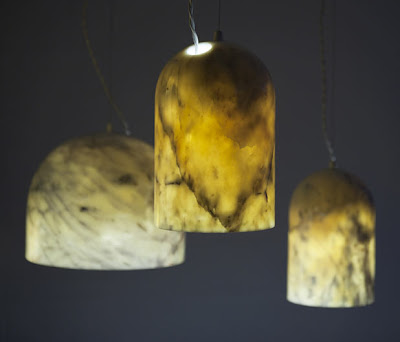 lampara de marmol