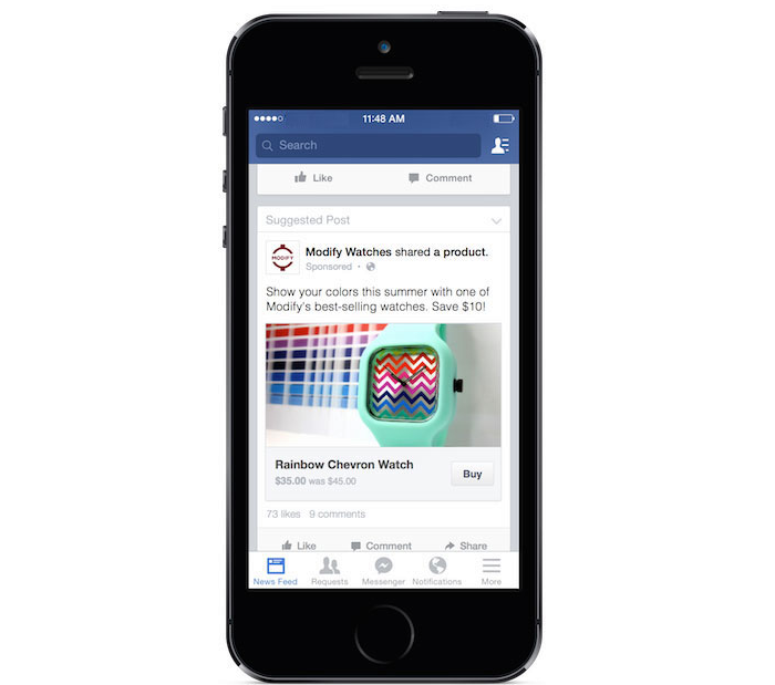 Facebook pages could soon become e commerce mini sites for Number 1 online shopping site