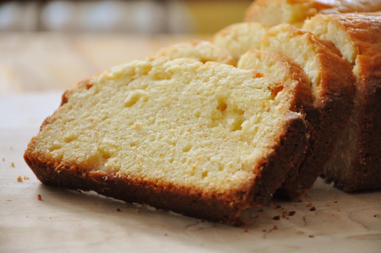 Cream Cheese Pound Cake With Wheat Flour
