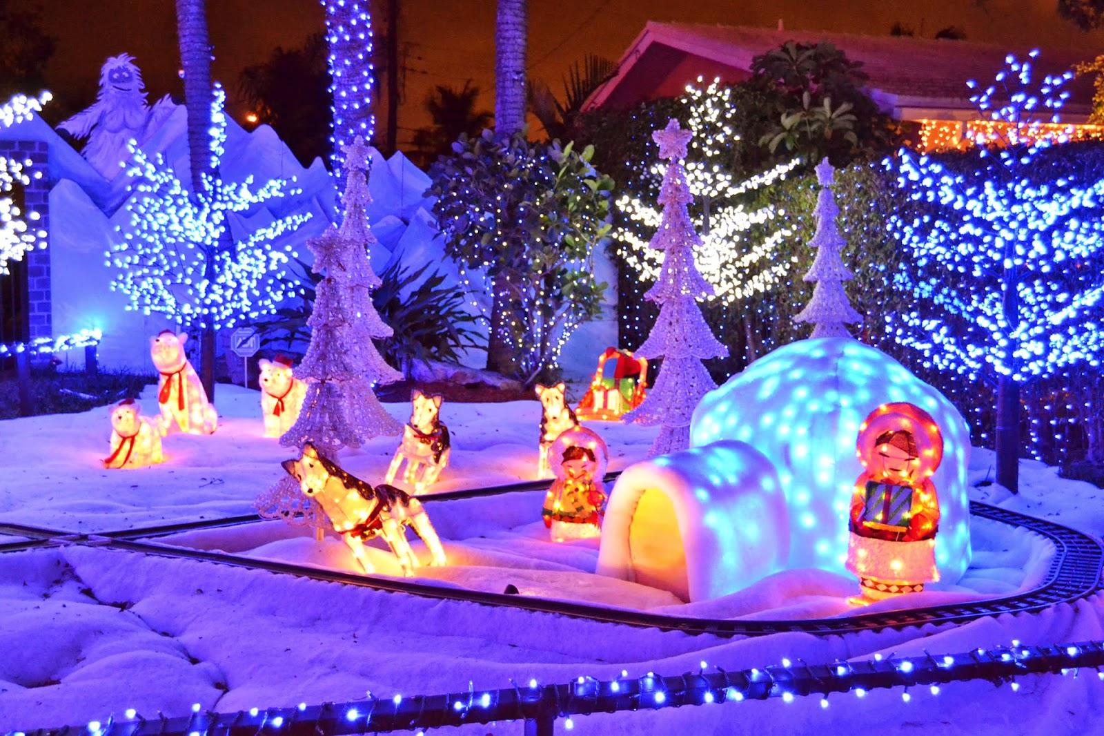 Artesanato Verefazer ~ Hey Florida! Decoraç u00e3o de Natal pela vizinhança!