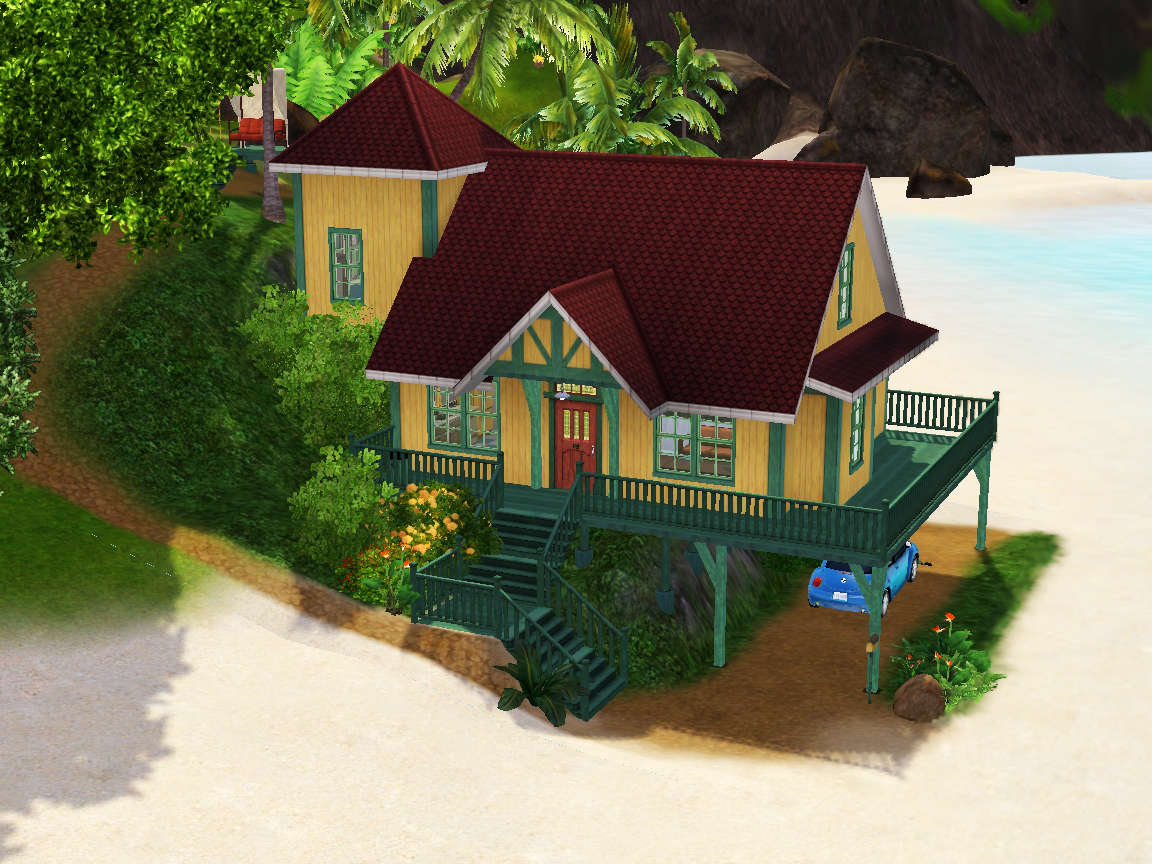 sims 3 disney lilo stitch house