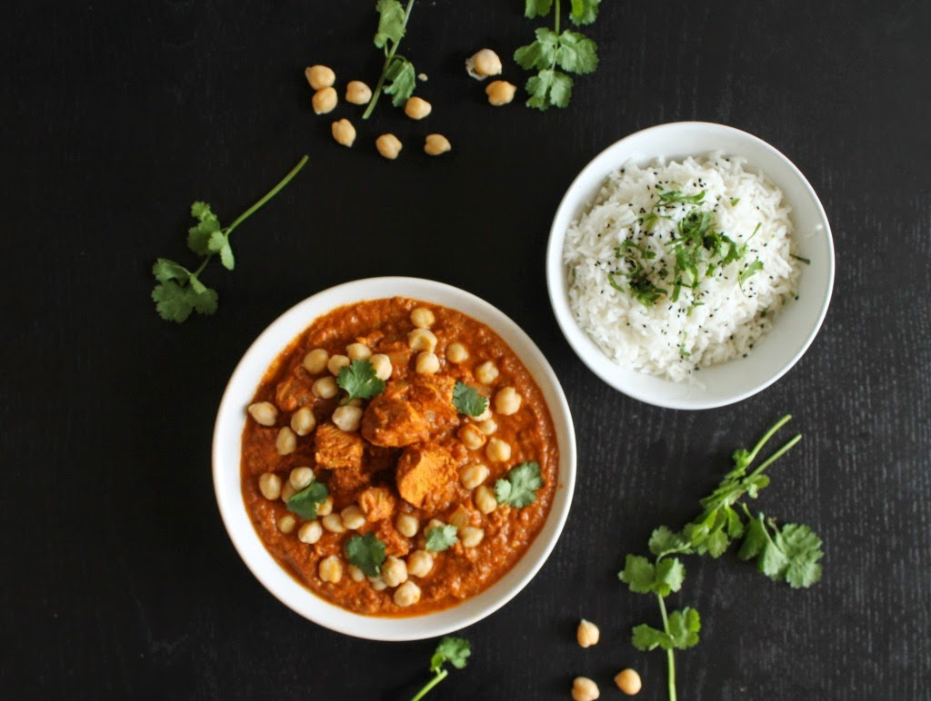 Featured Recipe | Chicken Tikka Masala from Della Cucina Povera #SecretRecipeClub #recipe