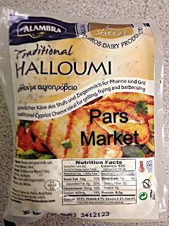 Halloumi is a  traditional cheese from Cyprus, the island in the Mediterranean Sea. raditionally it was made just from sheep's and goat's milk. Nowadays it might contain some cow's milk as well.