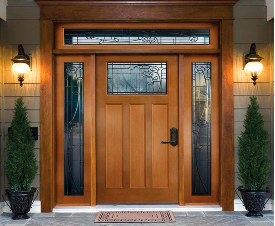 Home decor modern main door designs for home for Front entrance home designs