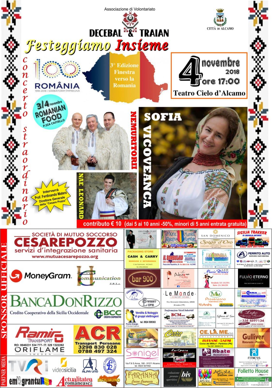 3° Ediz. Finestra verso la Romania - Alcamo