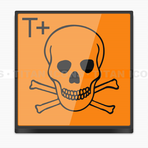 The gallery for --> Very Toxic Hazard Symbol