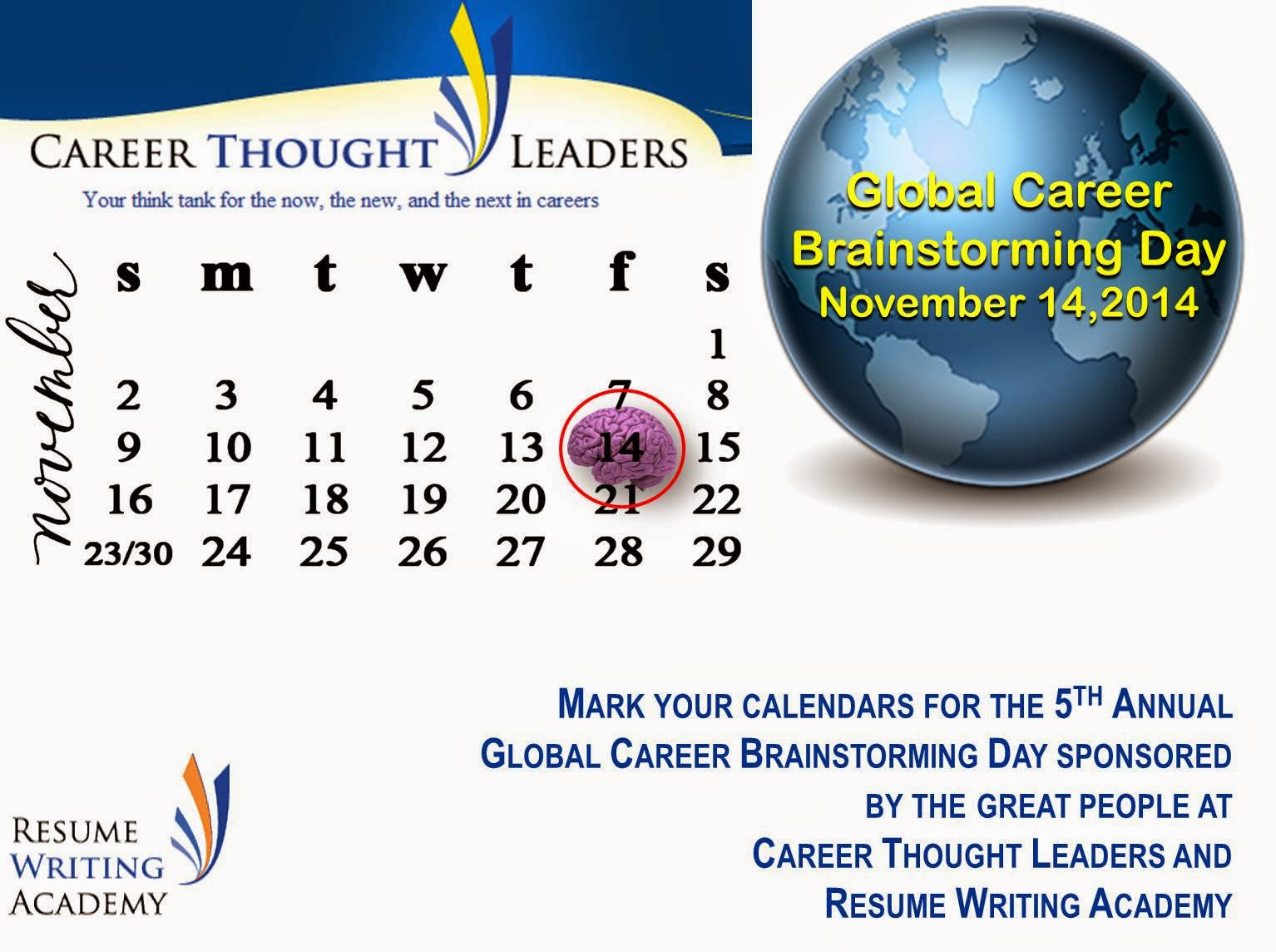 Global Career Brainstorming Day - CTL- RWA