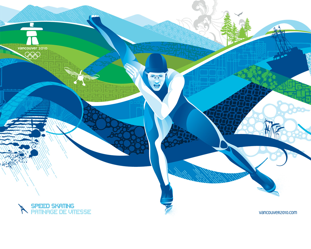 Vancouver 2010 Olympic Winter Games PowerPoint Backgrounds ...