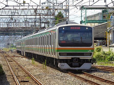 高崎・両毛線 普通 前橋行き E231系