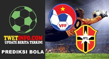 Prediksi Vietnam U19 vs Timor Leste U19