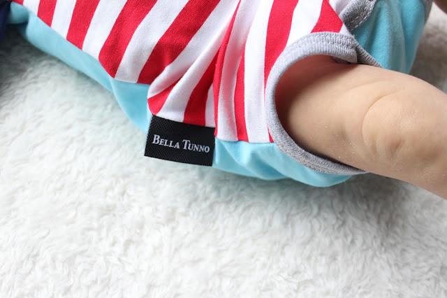 Onesie and Milestone sticker set, Bella Tunno