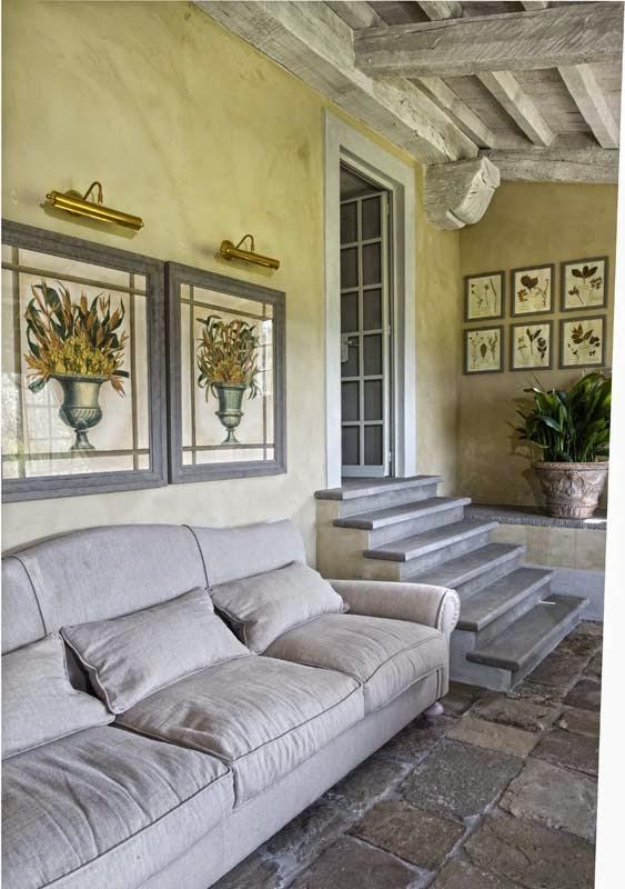 Estilo rustico casa toscana con toques de provenza for Muebles la toskana
