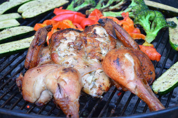 how to cook whole chicken on bbq
