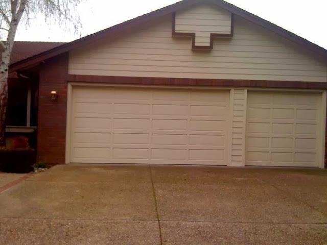 How to paint wood garage door ayanahouse
