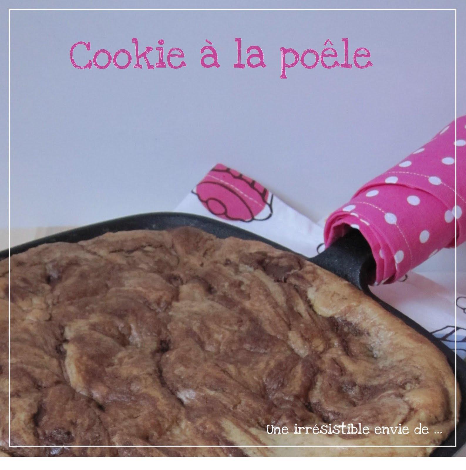 Une irr sistible envie de cookie aux p pites de chocolat la po le - Cuisiner une dorade a la poele ...