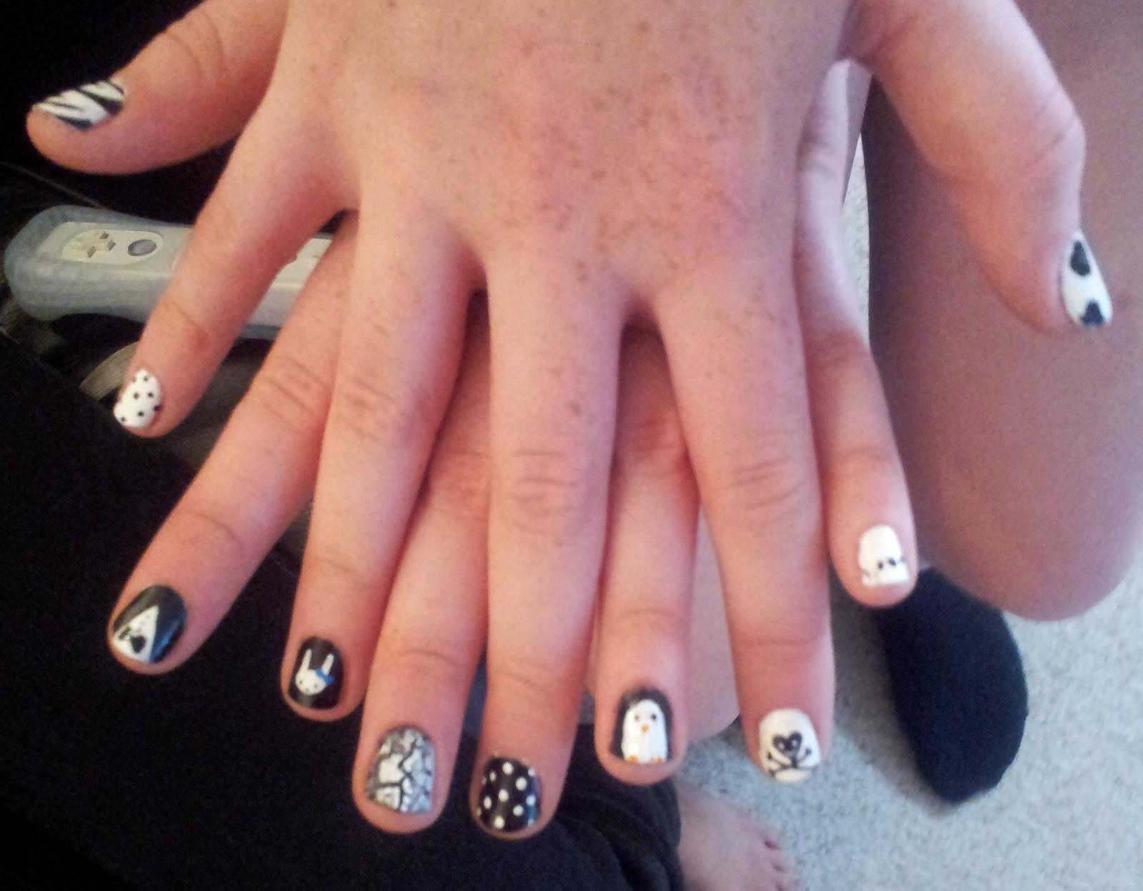 Kawaii Nail Art August 2012