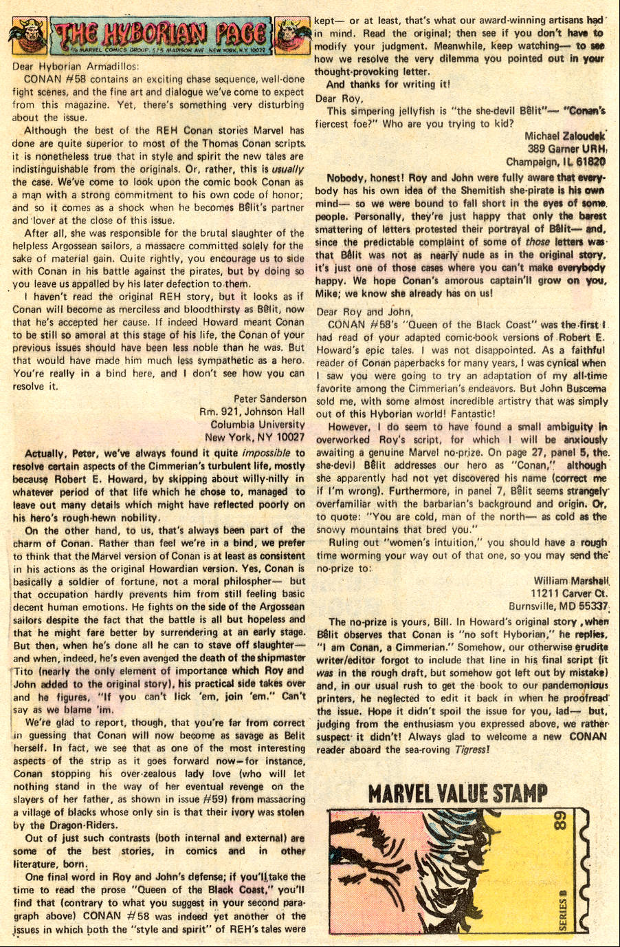 Conan the Barbarian (1970) Issue #62 #74 - English 21