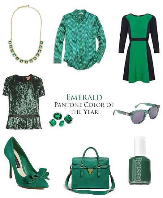 Emerald Panton Color