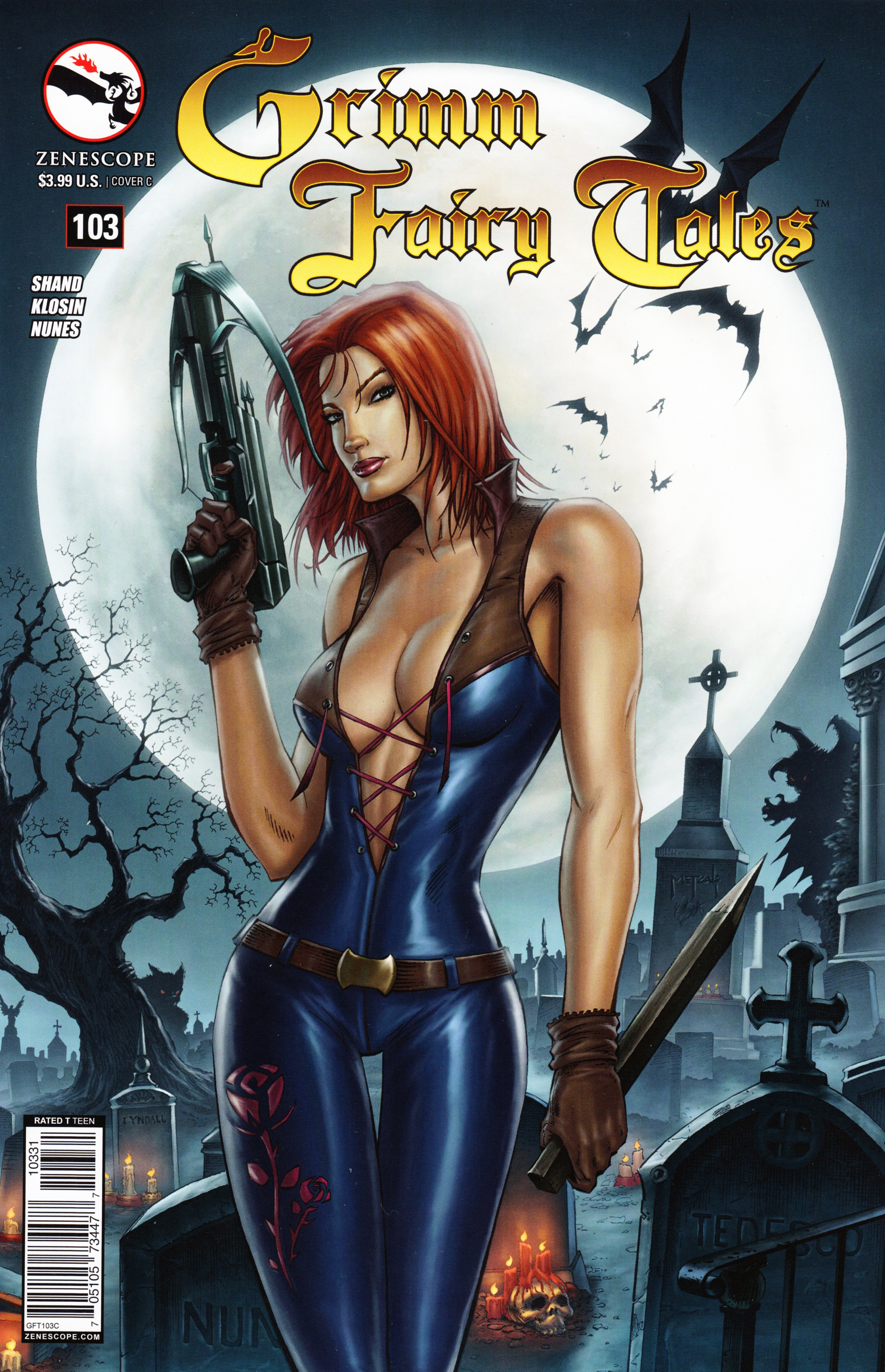 Grimm Fairy Tales (2005) Issue #103 #106 - English 2
