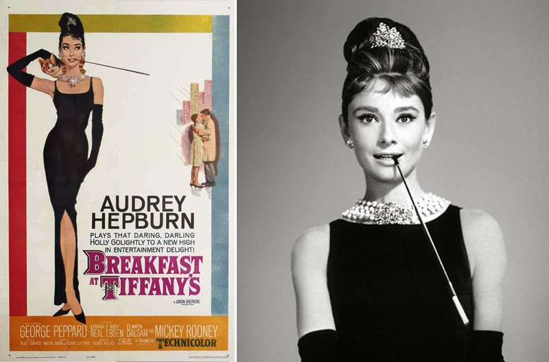 historia del cine a través de los carteles_Breakfast at Tiffany's