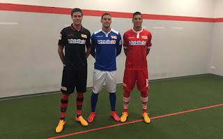 gambar detail jersey musim depan Jersey Terbaru Union Berlin FC  2015/2016
