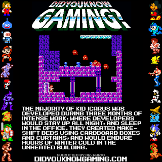 kid icarus fact Random Game Facts   Kid Icarus