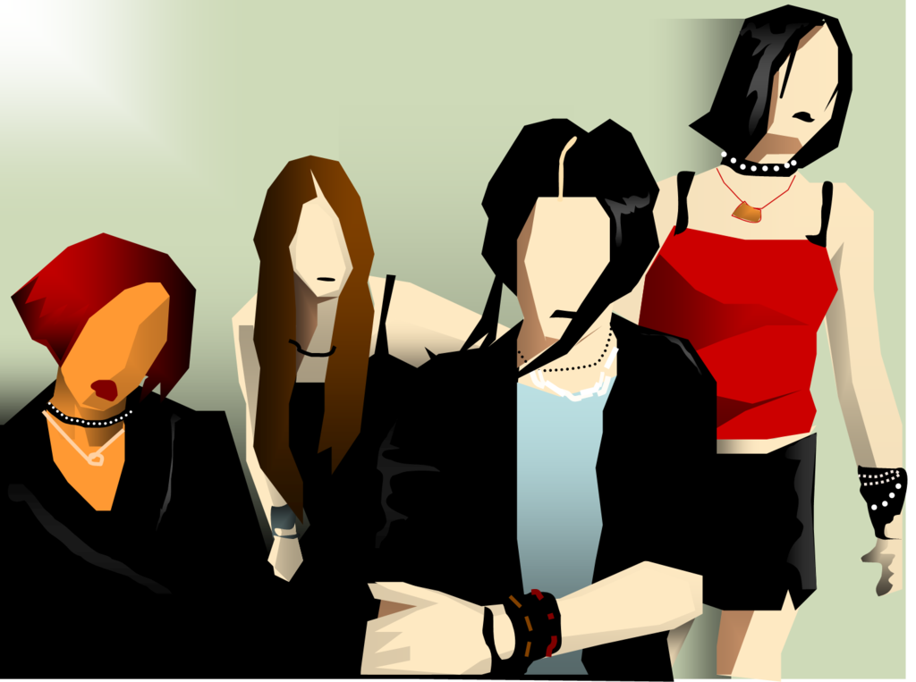 Kittie band fan art