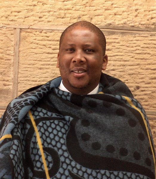 Letsie III, reina Lesotho desde noviembre 12 de 1990 exceptuando un período entre 1995 y 1996..