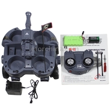 Radio Control Amphibious Tank with Shoot Set Frequency 40MHz 24883