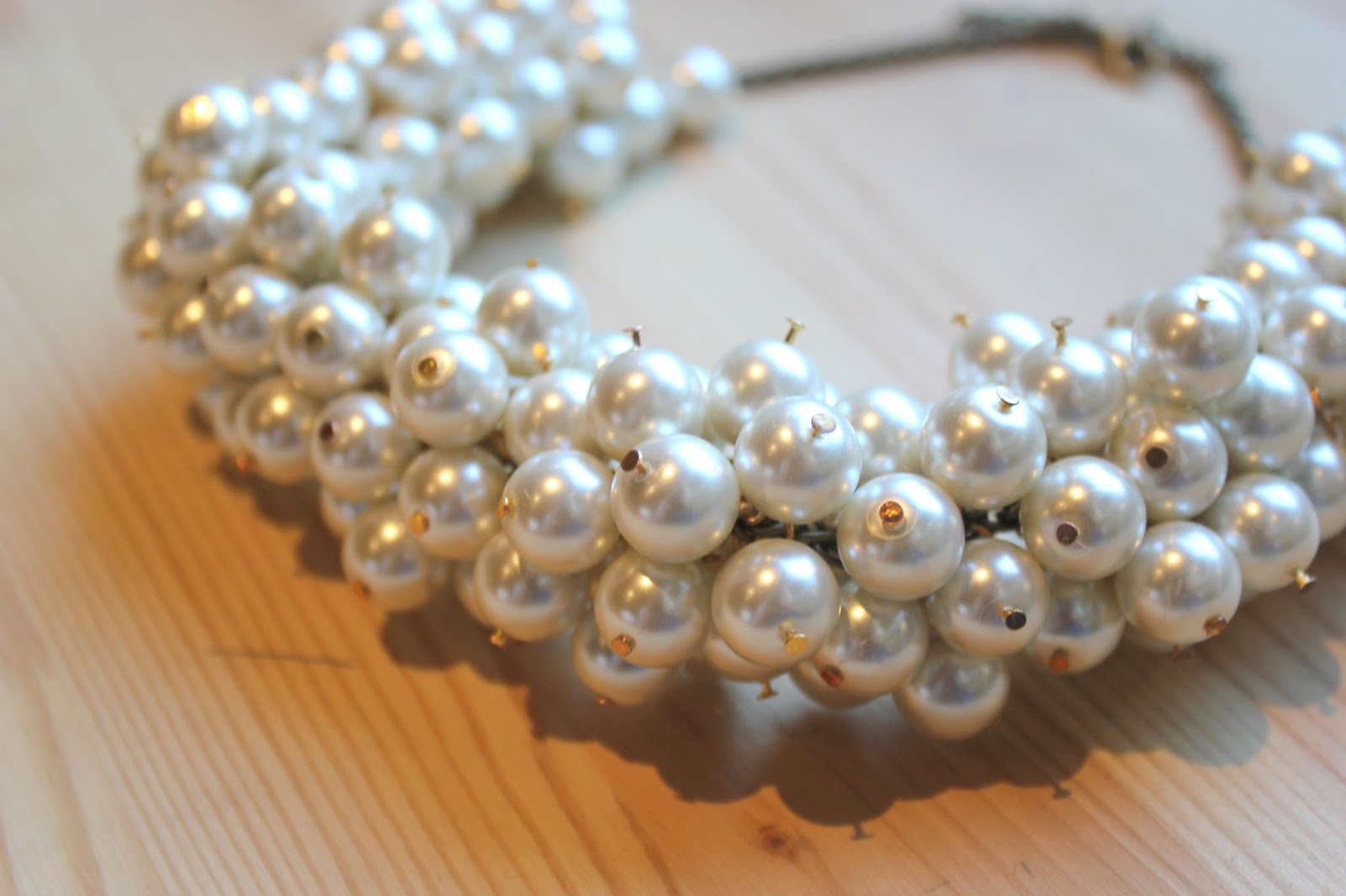 DIY Collar de perlas inspiración Chanel / DIY Pearl Necklace