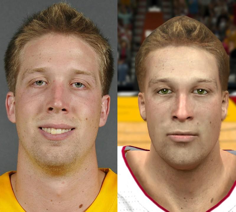 NBA 2K14 Justin Hamilton Face Mod