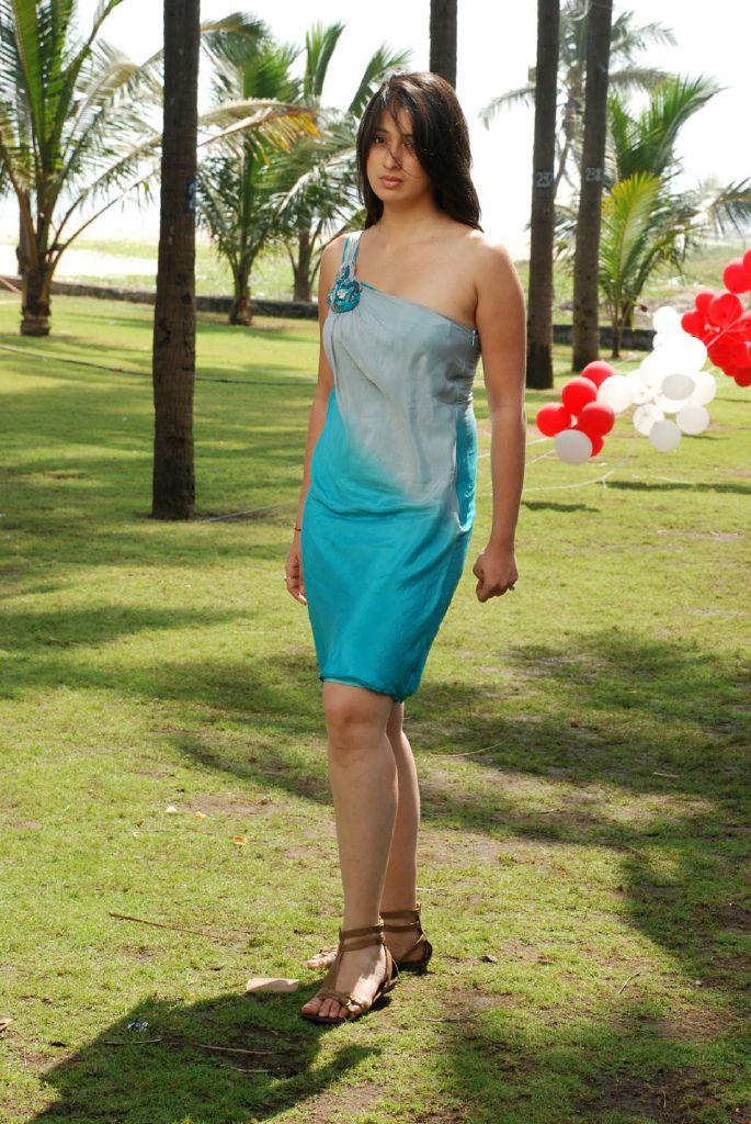 Lakshmi Rai Lawrence in Kanchana Telugu Movie Stills